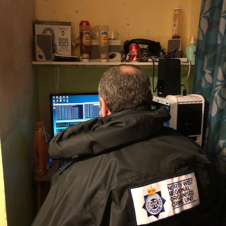 Police search computer
