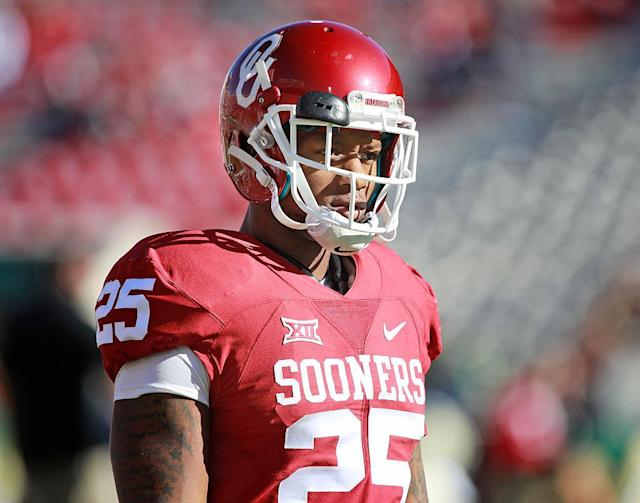 "In 2014, <a class=""link rapid-noclick-resp"" href=""/ncaaf/players/238556/"" data-ylk=""slk:Joe Mixon"">Joe Mixon</a> assaulted a woman in a sandwich shop."