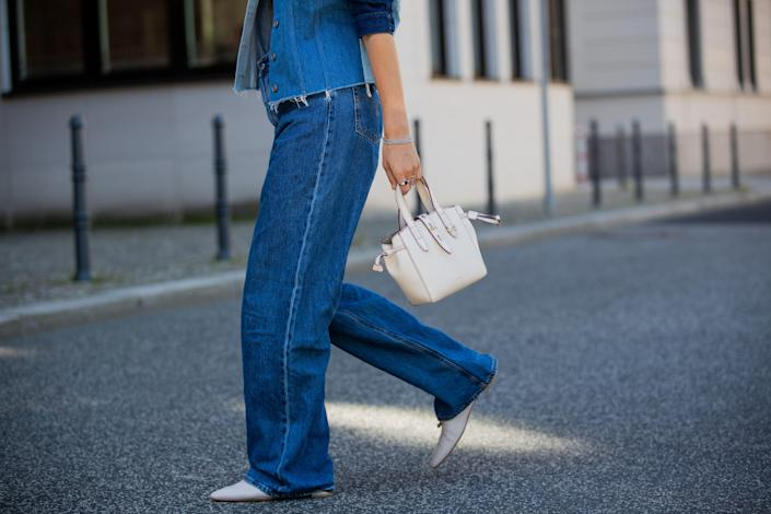 """<p>After a year spent in sweatpants and sweatshorts, I'm finally interested in wearing hard pants again. But if I'm spending on denim, I want jeans that look as good five years from now as they do today. Enter: the Nordstrom Anniversary Sale. </p><p>In between <a href=""""https://www.harpersbazaar.com/fashion/trends/g36946278/nordstrom-anniversary-sale-fashion/"""" rel=""""nofollow noopener"""" target=""""_blank"""" data-ylk=""""slk:fashion"""" class=""""link rapid-noclick-resp"""">fashion</a> and home finds, Nordstrom's Anniversary Sale has a secret section filled with timeless jeans. Think: L'Agence's subtle flares, dark skinny jeans by Mother, and of course, the Levi's 501. It's all denim that can be a neutral base for the Instagram top of the moment <em>and</em> complete a simple tee and jeans look. We narrowed down the Nordstrom Anniversary Sale's denim section to a lineup of ten classic jeans. Buy them now and wear them forever—or at least until you miss your cashmere sweats.</p>"""