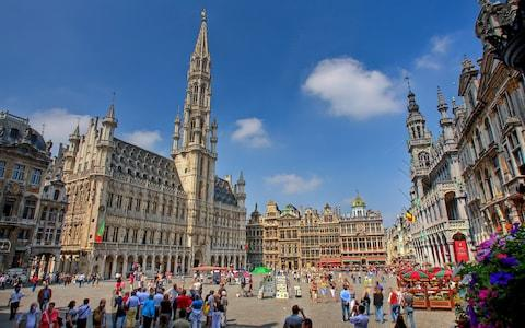 grand place, brussels, belgium - Credit: getty