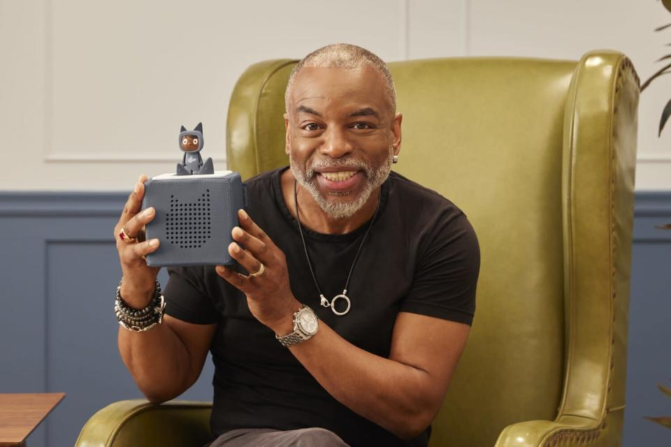 LeVar Burton and this reading tool for kids