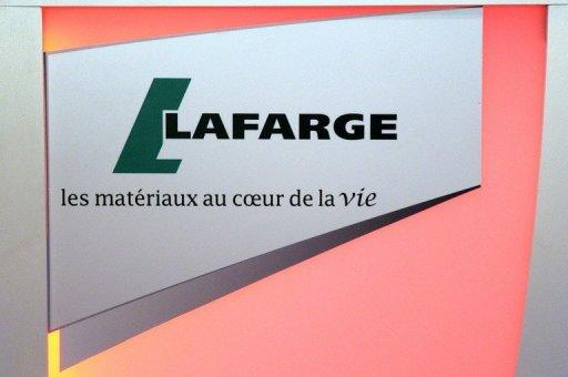 France's Lafarge results please investors