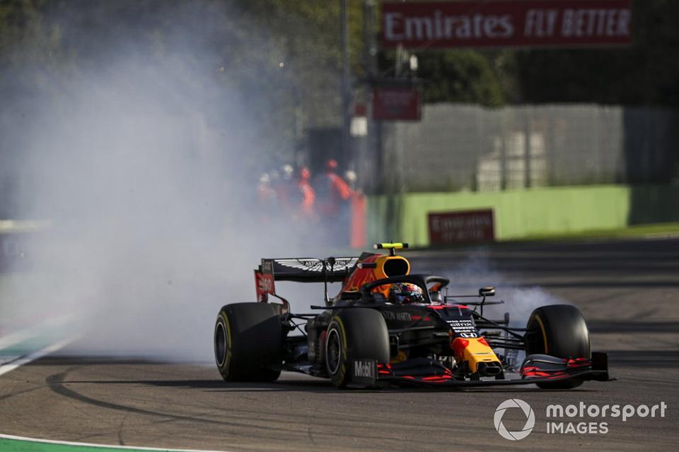 "Alex Albon, Red Bull Racing RB16<span class=""copyright"">Charles Coates / Motorsport Images</span>"