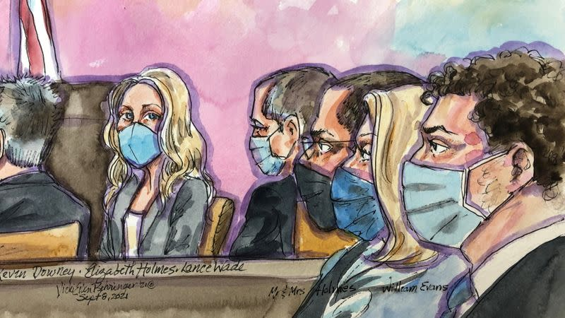 Theranos founder Holmes' trial in San Jose