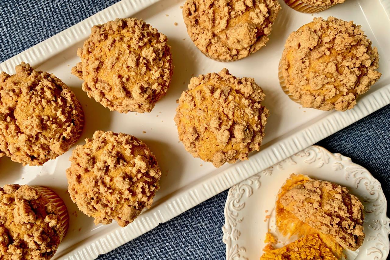 """<p><strong>Recipe:</strong> <strong><a href=""""https://www.southernliving.com/recipes/pumpkin-spice-muffins"""" target=""""_blank"""">Pumpkin Spice Muffins</a></strong></p> <p>Less cake, more muffin—that's the winning formula we used for this take on one of fall's finest treats. </p>"""