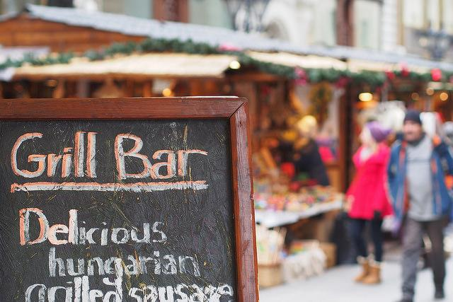 "<p>Combining traditional food (think hearty, goulash meat stews), live music and dancing, the Budapest Christmas Fair is the place to be this winter. Based in city's Pest area, it is made up of over 150 stalls where you can pick up everything from local Hungarian fare to mulled wine and traditional wooden toys. See <u><a rel=""nofollow"" href=""http://budapestchristmas.com/"">budapestchristmas.com</a></u>. [Photo: Flickr/<u><a rel=""nofollow"" href=""https://www.flickr.com/photos/kobakpontorg/"">Balazs Koren</a></u>] </p>"