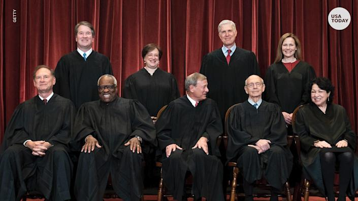 The Supreme Court is back in-person after a year of remote arguments.