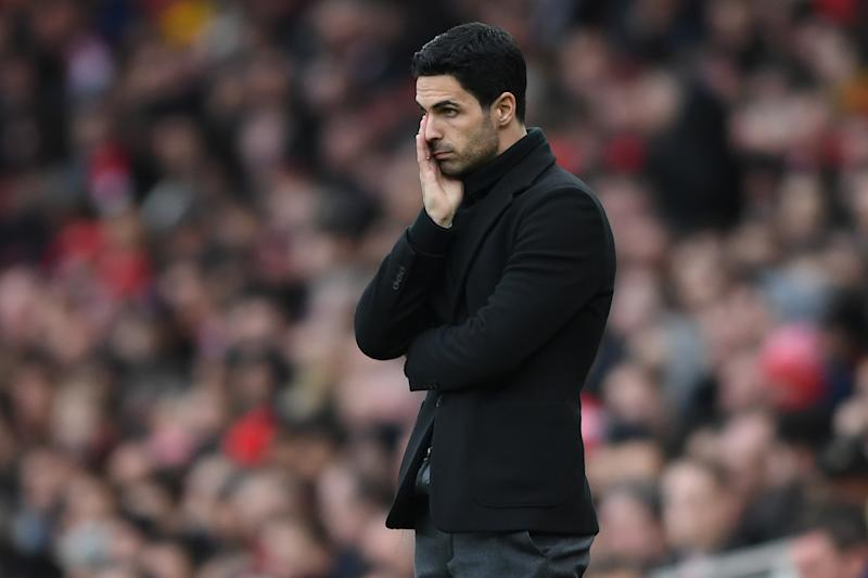 Arsenal manager Mikel Arteta has tested positive for the coronavirus. (Photo by Harriet Lander/Copa/Getty Images )