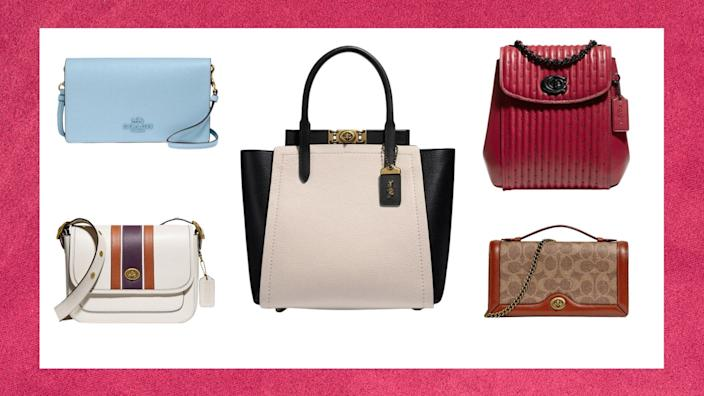 Coach's Boxing Week Sale is here - save up to 65% on wallets, handbags and more.