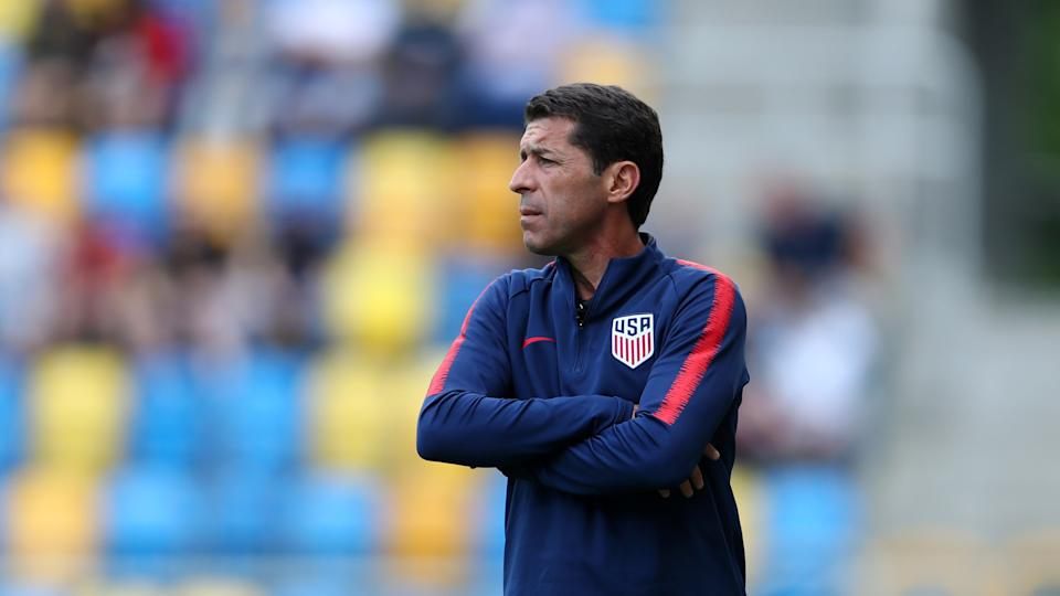 The U.S. U-20 men's team has been without a coach since Tab Ramos stepped down in October, and plenty of other youth teams on the men's and women's sides are in the same situation. (Photo by Lars Baron - FIFA/FIFA via Getty Images)
