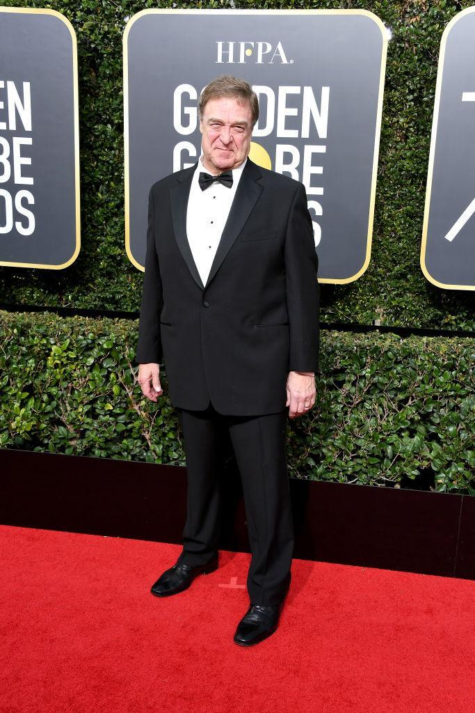 <p>The <em>Roseanne</em> actor, a presenter, attends the 75th Annual Golden Globe Awards at the Beverly Hilton Hotel in Beverly Hills, Calif., on Jan. 7, 2018. (Photo: Steve Granitz/WireImage) </p>