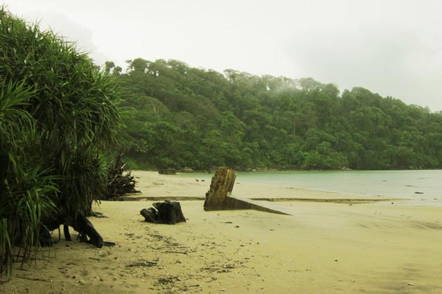 Collinpur Beach, with not a soul in sight. Photo: Siddharth Dasgupta