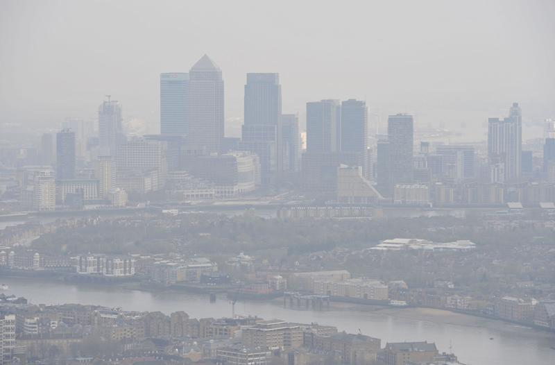 London is still among the most polluted places in the UK - but it isn't the worst (Picture: PA)
