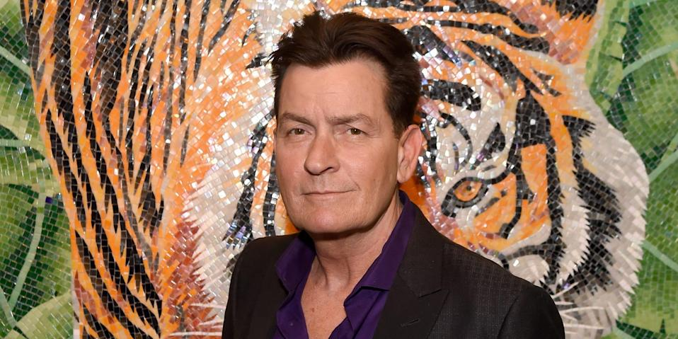 Charlie Sheen Getty Images