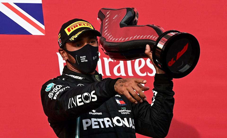 A seventh world championship is simply a matter of time for Lewis HamiltonAFP via Getty