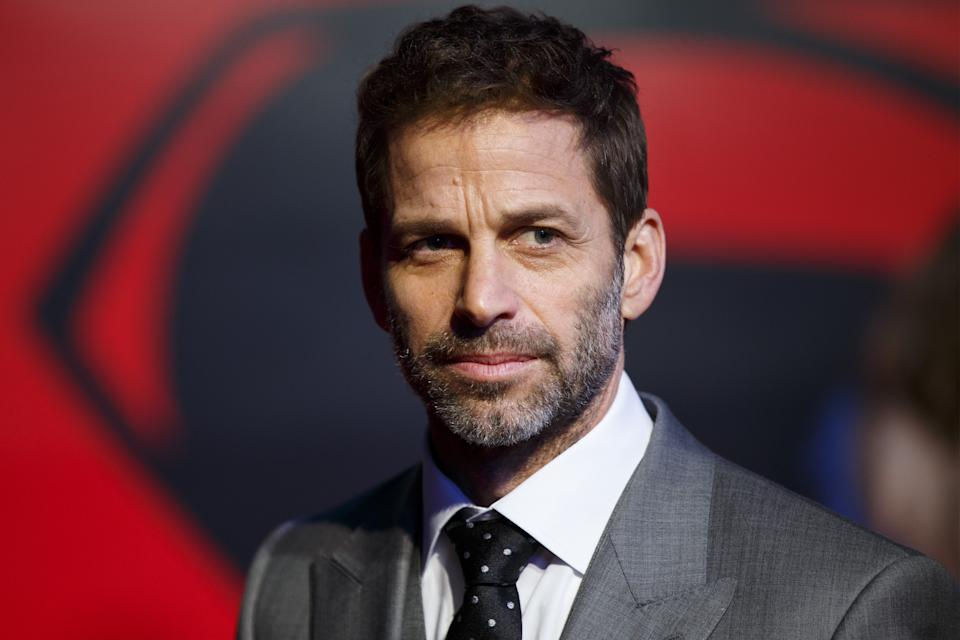 LONDON, UNITED KINGDOM - MARCH 22: Director Zack Snyder attending 'Batman v Superman: Dawn of Justice' European Premiere in Leicester Square, London, England on March 22, 2016. (Photo by Tolga Akmen/Anadolu Agency/Getty Images)