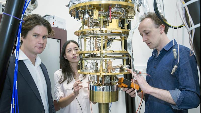 The University of Sydney is part of a team hoping to create the world's first quantum computer.