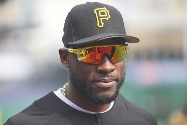 Pirates outfielder Starling Marte is eligible to return from his PED suspension July 18. (AP Photo)