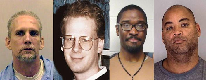 "<span class=""caption"">Four of the 10 federal prisoners executed this year: Wesley Purkey, killed July 16; Dustin Honken, killed July 17; Brandon Bernard, killed Dec. 10; and Alfred Bourgeois, killed Dec. 11. In some cases, survivors of their victims addressed the court.</span> <span class=""attribution""><span class=""source"">AP Photo</span></span>"