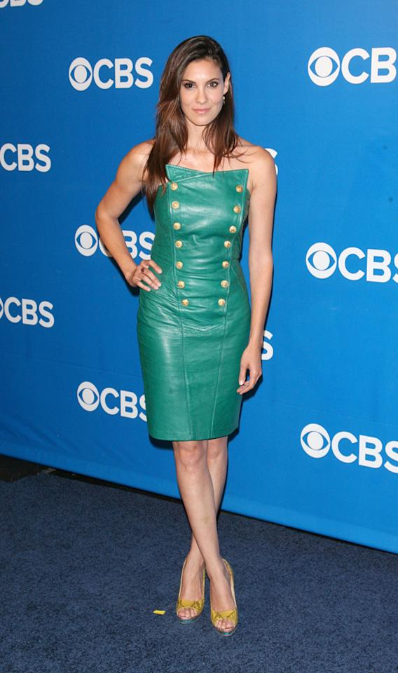 "Daniela Ruah (""NCIS: Los Angeles"") attends CBS's 2012 Upfront Presentation on May 16, 2012 in New York City."