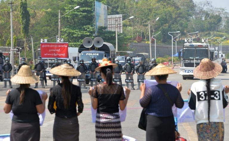 Myanmar security forces have used increasing force to quell huge nationwide street protests against the coup