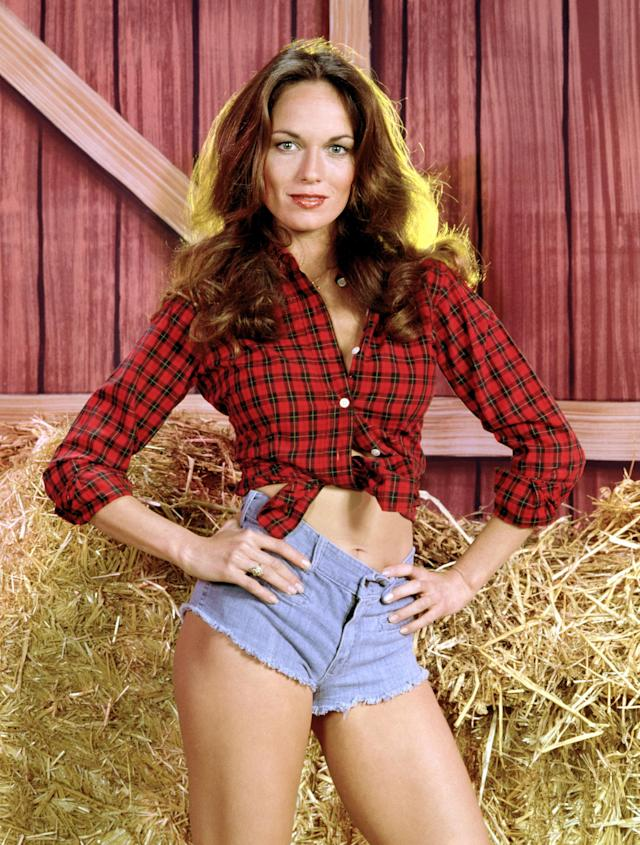 "Daisy Duke, played by Catherine Bach in ""The Dukes of Hazzard."" (Photo: Everett Collection)"