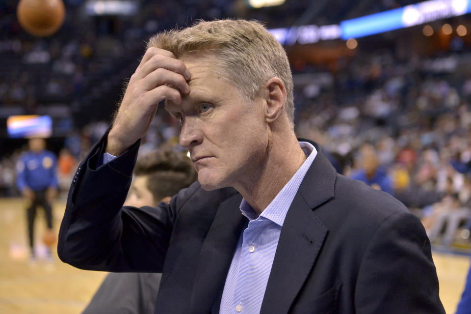 Steve Kerr gave us a lot to think about. (AP)