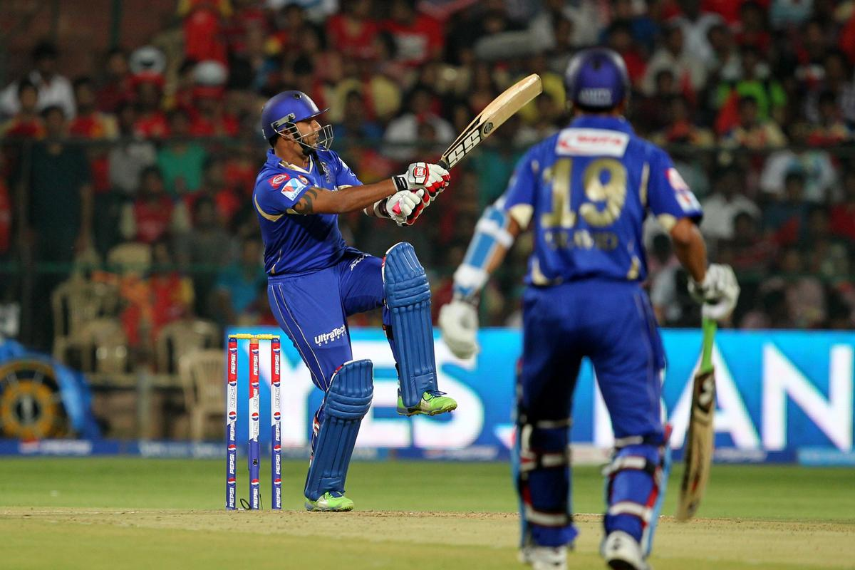 Stuart Binny during match 27 of the Pepsi Indian Premier League between The Royal Challengers Bangalore and The Rajasthan Royals held at the M. Chinnaswamy Stadium, Bengaluru  on the 20th April 2013Photo by Prashant Bhoot-IPL-SPORTZPICS    Use of this image is subject to the terms and conditions as outlined by the BCCI. These terms can be found by following this link:https://ec.yimg.com/ec?url=http%3a%2f%2fwww.sportzpics.co.za%2fimage%2fI0000SoRagM2cIEc&t=1492977088&sig=2nwlFntFT59TuNmtAHtgzA--~C