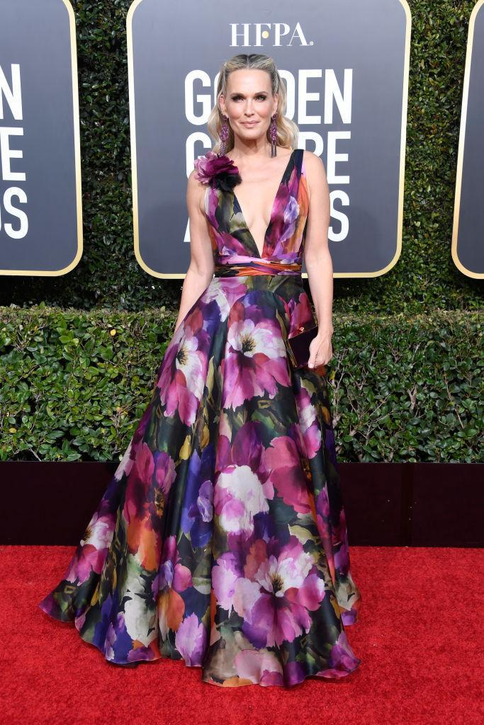 <p>Molly Sims attends the 76th Annual Golden Globe Awards at the Beverly Hilton Hotel in Beverly Hills, Calif., on Jan. 6, 2019. (Photo: Getty Images) </p>