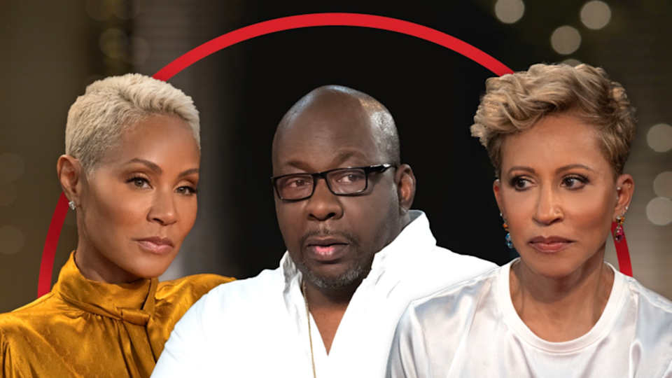 """Bobby Brown sits down with the ladies of """"Red Table Talk"""" to discuss the recent death of his son Bobby Brown Jr."""