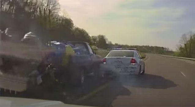 During the shootings, the unarmed driver was struck in the head and killed. Source: News Channel 5