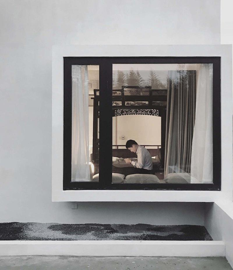 A bedroom inside the ultra-accessible Song House