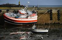 Fishermen are finding it harder to get freshly caught items to tables on the continent