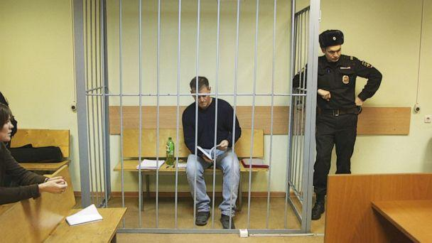 PHOTO: Gaylen Grandstaff in a courtroom in Moscow. (Patrick Reevell/ABC News)