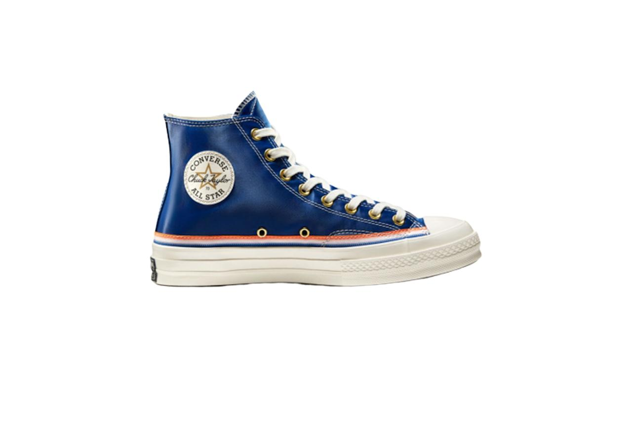 "$90, Converse. <a href=""https://www.converse.com/shop/p/breaking-down-barriers-knicks-chuck-70-unisex-hightopshoe/166815MP.html?dwvar_166815MP_color=rush%20blue%2Fbold%20mandarin%2Fegret&styleNo=166815C&cgid=mens-chuck-70-shoes"">Get it now!</a>"