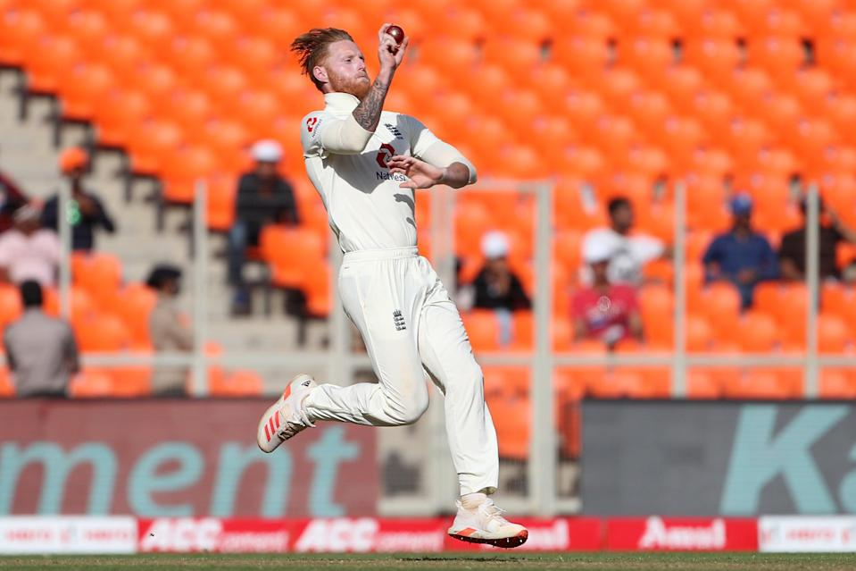 Ben Stokes charges in (Getty Images)