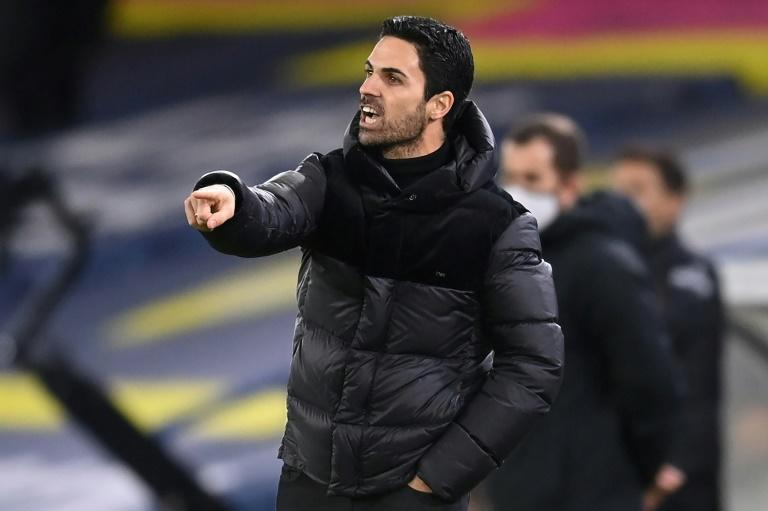 Mikel Arteta's Arsenal are 12th in the Premier League after a poor run of results
