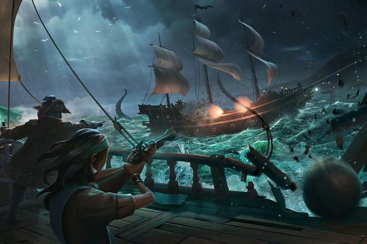 best xbox one games sea of thieves