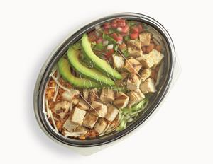 Delicious ingredients can be viewed with eco-friendly clear lid