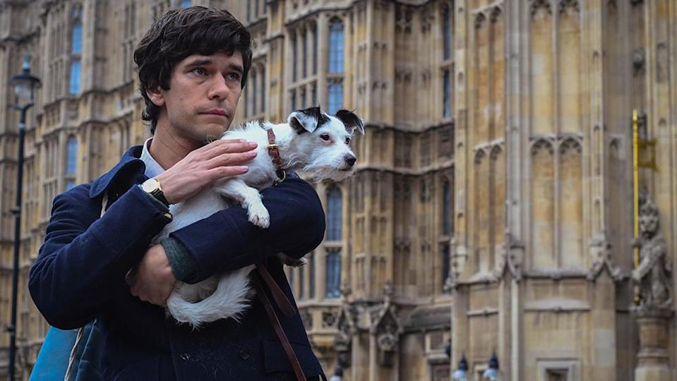 Ben Whishaw as Norman Scott in A Very English Scandal (BBC One)