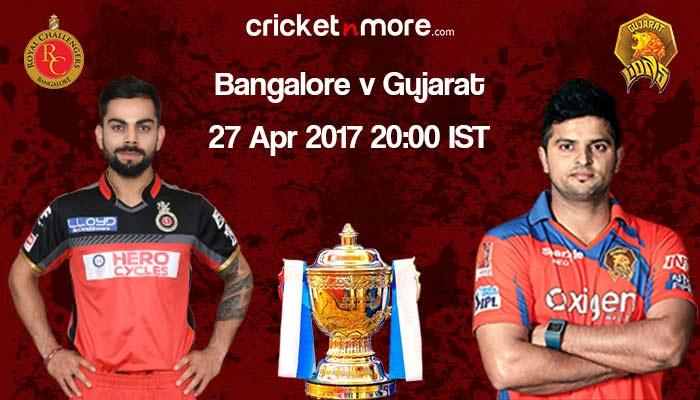 IPL: Bangalore eye turnaround against Gujarat