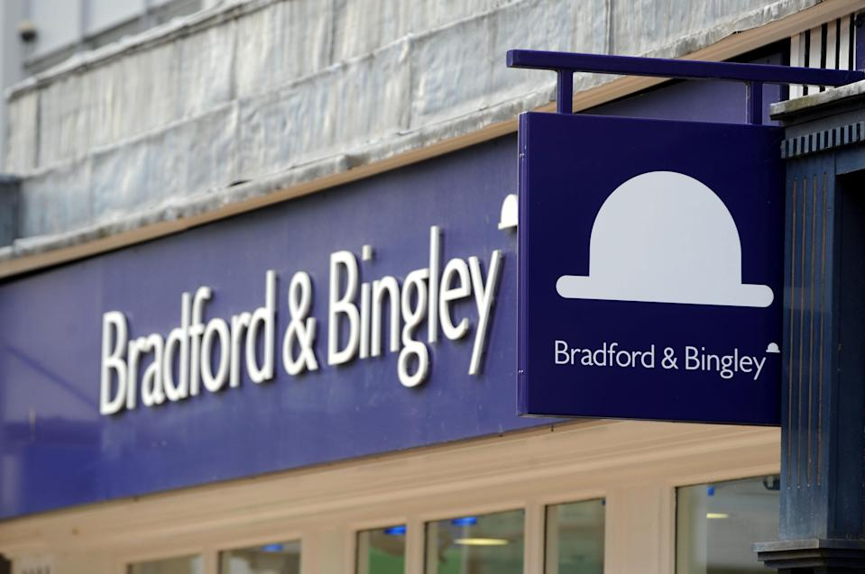Branch of mortgage lender Bradford & Bingley in Chelmsford, Essex.   (Photo by Ian Nicholson - PA Images/PA Images via Getty Images)