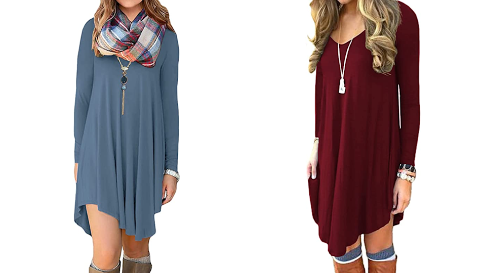 You might want to buy this basic dress in multiple colors.