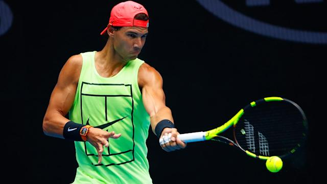 Despite not playing an official match in preparation, Rafael Nadal is still confident heading into the Australian Open.