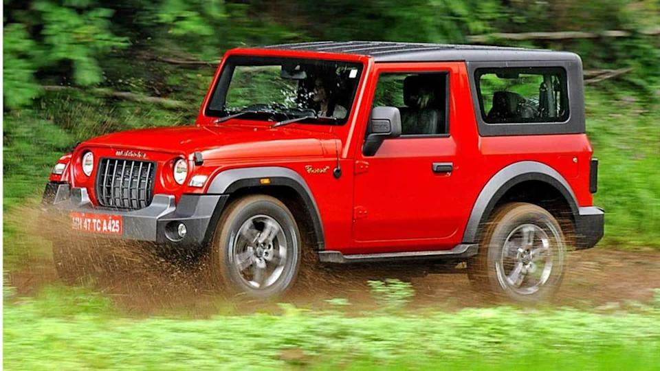 Bookings for 2020 Thar AX trim temporarily halted in India