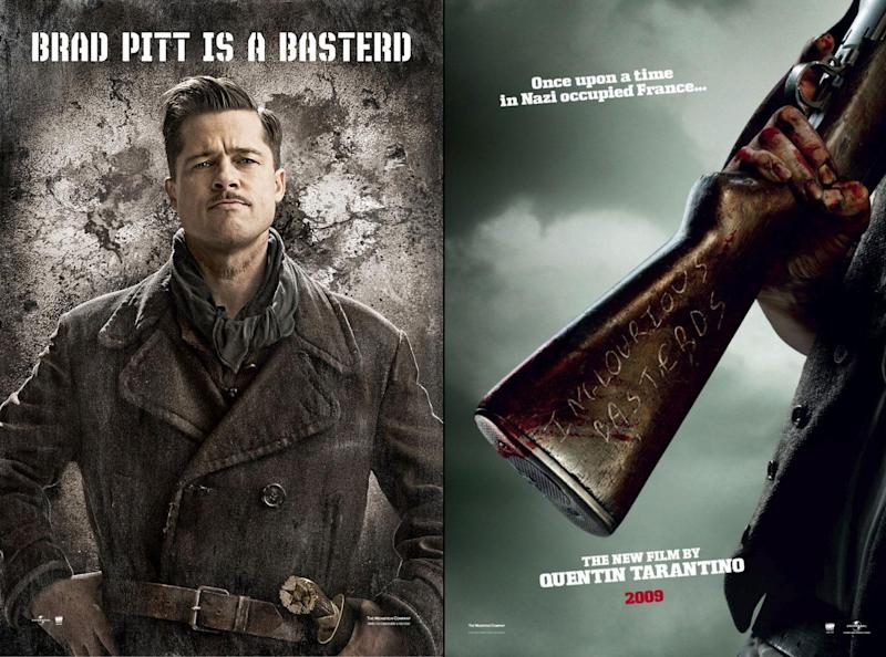 Brad pitt returns to war in the first fury poster inglourious basterds posters urmus Images