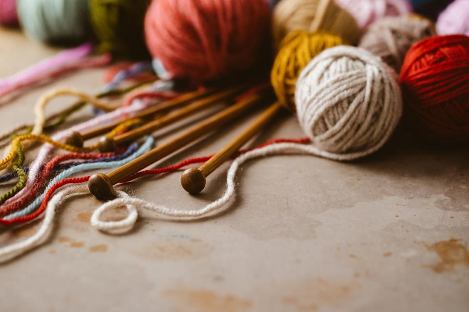 """<p>When you first <a href=""""https://www.prima.co.uk/craft/knitting-patterns/a21151/how-to-knit/"""" rel=""""nofollow noopener"""" target=""""_blank"""" data-ylk=""""slk:learn to knit"""" class=""""link rapid-noclick-resp"""">learn to knit</a>, it can be hard to find <a href=""""http://www.prima.co.uk/craft/knitting-patterns/"""" rel=""""nofollow noopener"""" target=""""_blank"""" data-ylk=""""slk:knitting patterns"""" class=""""link rapid-noclick-resp"""">knitting patterns</a> suitable for beginners, never mind finding the right yarn, working out how much to buy, and which needles to use. </p><p>Why not make it a little easier by treating yourself to a starters knitting kit: our selection are all suitable for <a href=""""http://www.prima.co.uk/craft/"""" rel=""""nofollow noopener"""" target=""""_blank"""" data-ylk=""""slk:beginners"""" class=""""link rapid-noclick-resp"""">beginners</a>, and contain all you need to produce a perfect hand-knitted piece. And once you've used the yarn supplied, you can use the pattern and needles again meaning you're on to a very sustainable hobby!</p><p>From simple scarves to baby blankets and a knitted hat to keep you warm on chilly days, find your new knitting project in our round-up of the best knitting kits for beginners. We've also got the basics covered (casting on and off and basic stitches) in our <a href=""""https://www.prima.co.uk/craft/knitting-patterns/a21151/how-to-knit/"""" rel=""""nofollow noopener"""" target=""""_blank"""" data-ylk=""""slk:how to knit guide"""" class=""""link rapid-noclick-resp"""">how to knit guide</a>. </p>"""