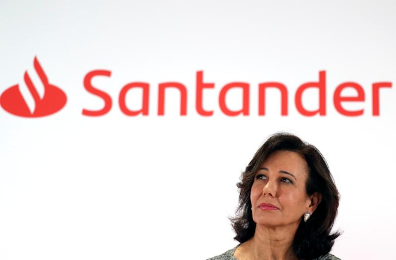 Banco Santander's chairwoman Ana Patricia Botin attends the annual results presentation at bank's headquarters in Boadilla del Monte, outside Madrid, Spain January 30, 2019. REUTERS/Sergio Perez