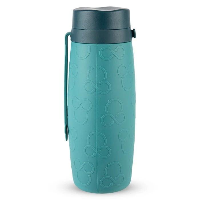 <p>There are plenty of spots inside a theme park to find water (some even hand out free ice water if you ask nicely), but it's more convenient to bring your own. This <span>Mickey Mouse Repeatables Roll-Up Water Bottle</span> ($23) is reusable and portable, so it's easy to bring with you around the park.</p>