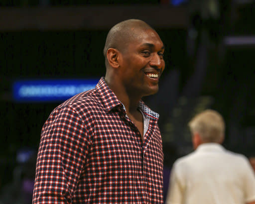 7ce6924b096 Metta World Peace Showtime Doc Explores Ex-Laker s Mental Health Issues